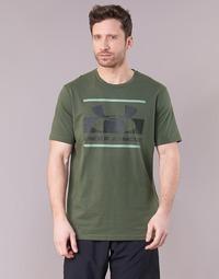 Vêtements Homme T-shirts manches courtes Under Armour BLOCKED SPORTSTYLE LOGO Kaki