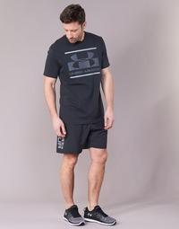 Vêtements Homme Shorts / Bermudas Under Armour WOVEN GRAPHIC WORDMARK SHORT Noir