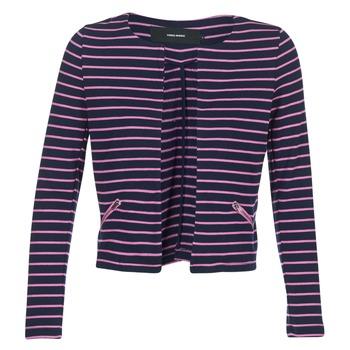 Vêtements Femme Vestes / Blazers Vero Moda VMULA Marine / Rose
