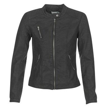 Vêtements Femme Vestes en cuir / synthétiques Only STEADY Noir