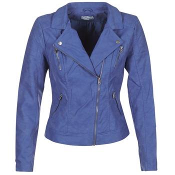 Vêtements Femme Vestes en cuir / synthétiques Only STEADY Bleu