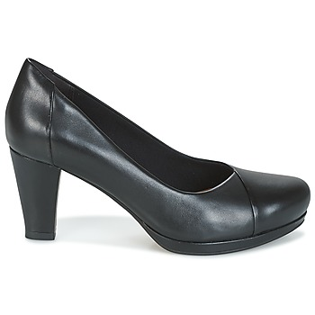 Clarks Chorus Carol Black Leather
