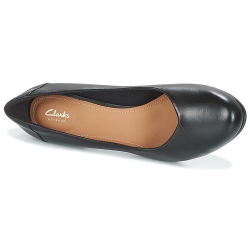 Clarks CHORUS CAROL Black Leather