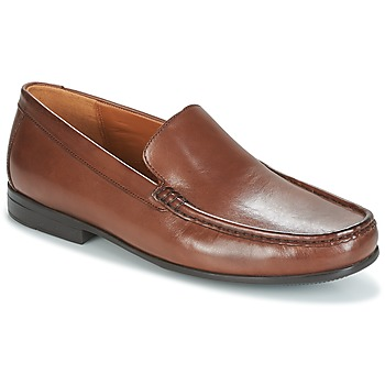 Chaussures Homme Mocassins Clarks CLAUDE PLAIN Brown Leather
