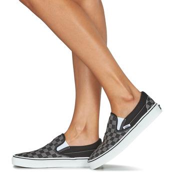Vans CLASSIC SLIP-ON Noir / Gris