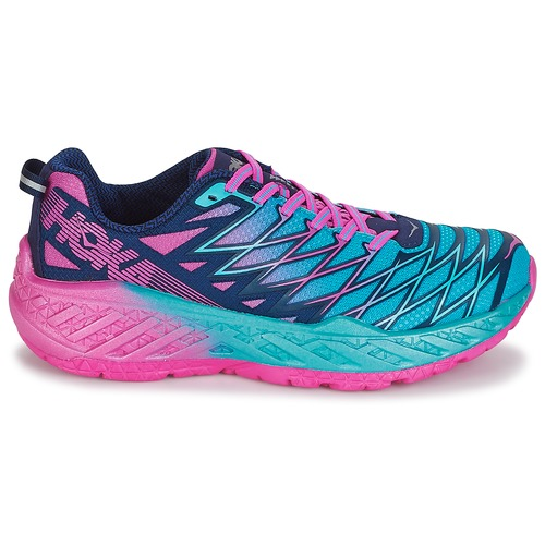 Hoka one one W CLAYTON 2 Bleu / Rose