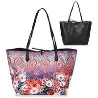 Sacs Femme Cabas / Sacs shopping Desigual BOLS_CAPRI FREYA Rose / Multicolore