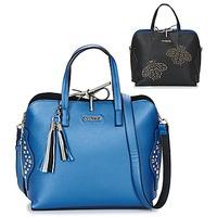 Sacs Femme Sacs porté main Desigual BOLS_HAMAR TRICOLOR Bleu / Noir