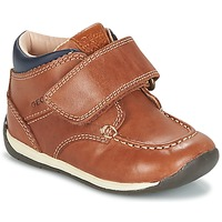 Chaussures Garçon Baskets basses Geox B EACH BOY Marron