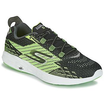 Chaussures Homme Running / trail Skechers Go Run 5 Noir / Vert