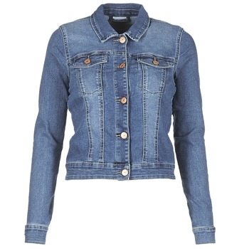Vêtements Femme Vestes en jean Noisy May NMDEBRA Bleu medium