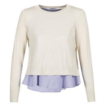 Vêtements Femme Pulls Only LATISHA Beige / Bleu