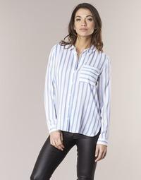 Vêtements Femme Chemises / Chemisiers Only CANDY Blanc / Bleu