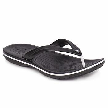 Chaussures Tongs Crocs CROCBAND FLIP Noir