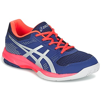 Chaussures Femme Sport Indoor Asics GEL-ROCKET 8 Bleu / Rose / Orange