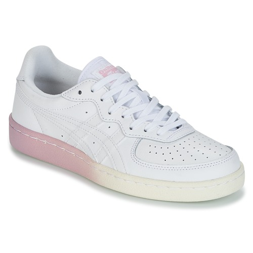 Chaussures Femme Baskets basses Onitsuka Tiger GSM LEATHER Blanc / Rose