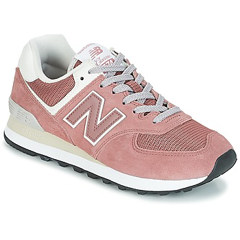 Chaussures Femme Baskets basses New Balance WL574 Rose