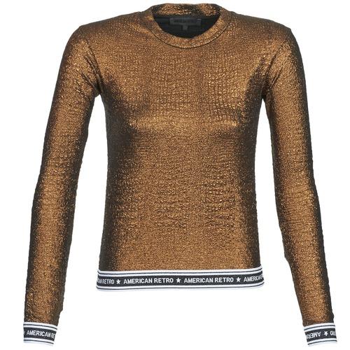 Vêtements Femme T-shirts manches longues American Retro ALLAN Mordore