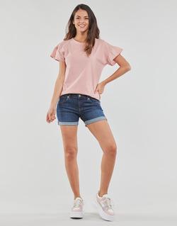 Vêtements Femme Shorts / Bermudas Yurban INYUTE Bleu foncé
