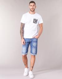 Vêtements Homme Shorts / Bermudas Yurban IXOLAK Bleu clair