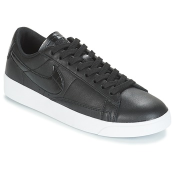 quality design ff732 85c0a Chaussures Femme Baskets basses Nike BLAZER LOW ESSENTIAL W Noir