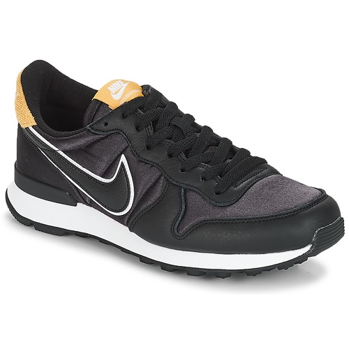 buy popular 177ee 5aacf Chaussures Femme Baskets basses Nike INTERNATIONALIST HEAT Noir   Doré