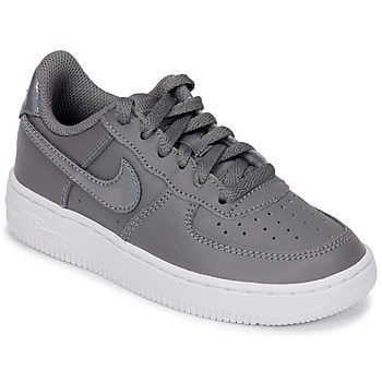Chaussures Fille Baskets basses Nike AIR FORCE 1 PRE-SCHOOL Gris / Argenté