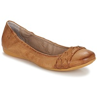 Chaussures Femme Ballerines / babies Dream in Green CICALO Tan