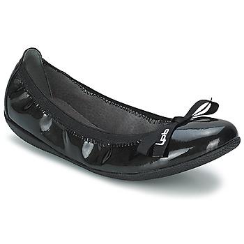 Chaussures Femme Ballerines / babies Les Petites Bombes ELLA VERNIS Noir