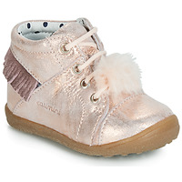 Chaussures Fille Baskets montantes Catimini PEPITA Rose