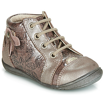 Chaussures Fille Baskets montantes GBB NICOLE Rose gold