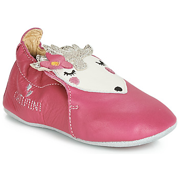 Chaussures Fille Chaussons Catimini HERISSETTE Rose