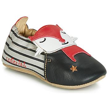 Chaussures Garçon Chaussons Catimini RENARDOU Noir / Gris / Rouge