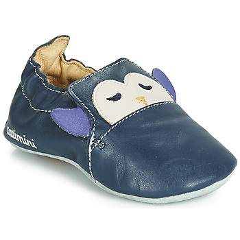 Chaussures Garçon Chaussons bébés Catimini PINGOU Marine / Ecru