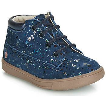 Chaussures Fille Baskets montantes GBB NINON VTE MARINE-POIS DPF/MESSI
