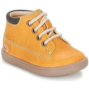 Chaussures Garçon Baskets montantes GBB NORMAN Moutarde