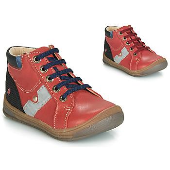 Chaussures Garçon Baskets montantes GBB RENOLD Rouge