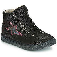 Chaussures Fille Baskets basses GBB MARTA VTE NOIR-DISCO DPF/DOLBY