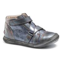 Chaussures Fille Baskets montantes GBB RADEGONDE VTV BLEU GRIS+IMP DPF/FRANCA