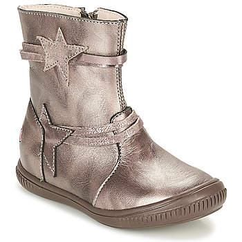Chaussures Fille Boots GBB NOTTE Taupe / Bronze