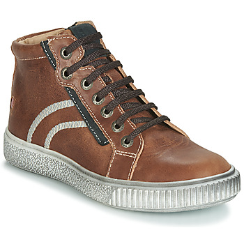 Chaussures Garçon Baskets montantes GBB NESTOR Marron