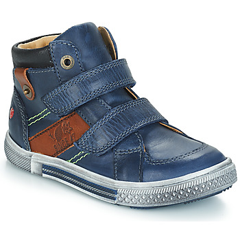 Chaussures Garçon Baskets montantes GBB RENDAL Marine / Marron