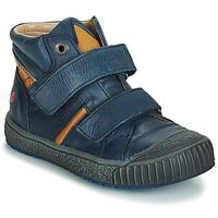 Chaussures Garçon Baskets montantes GBB RAIFORT Marine / Ocre