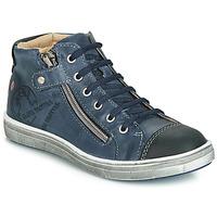 Chaussures Garçon Baskets montantes GBB NICO Marine