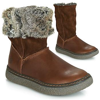 Chaussures Fille Bottes ville GBB DUBROVNIK Marron