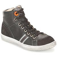 Chaussures Garçon Baskets montantes GBB ANGELO Noir