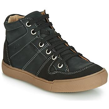 Chaussures Garçon Baskets montantes GBB NEMOON Noir