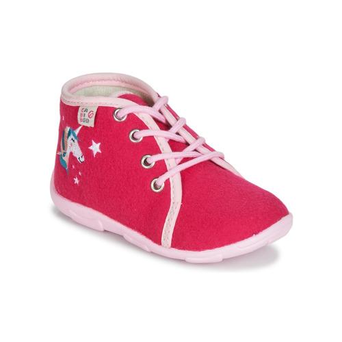 Chaussures Fille Chaussons GBB FEE ARC EN CIEL Rose
