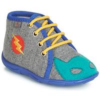 Chaussures Garçon Chaussons GBB SUPER BOYS Gris / Bleu