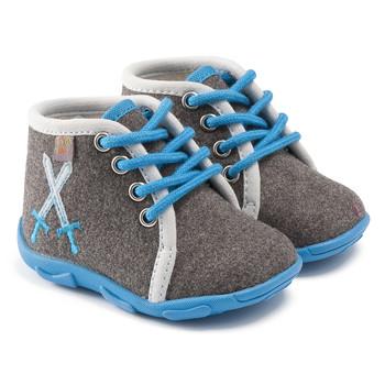 Chaussures Garçon Chaussons GBB DAGONET TTX GRIS-CIEL DTX/AMIS